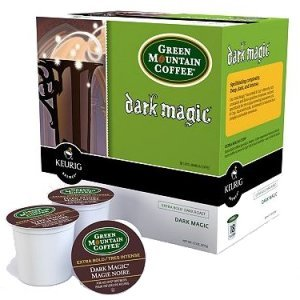 Green Mountain Dark Magic Dark Roast, 18 K Cups Keurig
