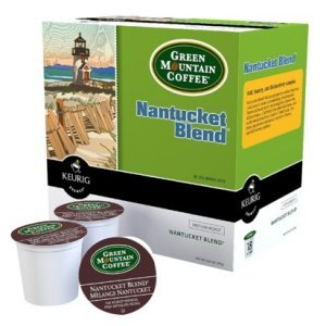 Green Mountain Nantucket Blend Medium Roast, 18 K Cups Keurig