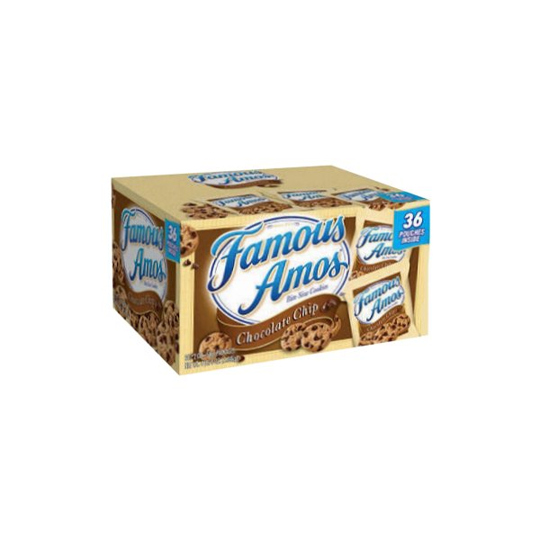 Famous Amos Chocolate Chip Cookies 2 oz Bags 36 Count - Click Image to Close