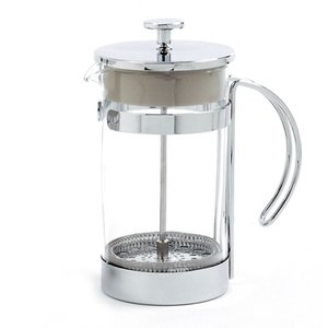Norpro 6 Cup Chrome Coffee Press - Tea Press 5575