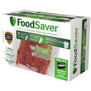 FoodSaver Combo Replacement Pack Bags 10466