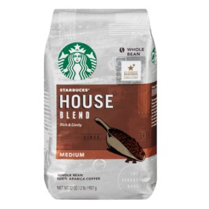 Starbucks House Blend Whole Bean - 32 oz.