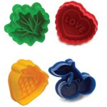 Norpro Pie Top Cutters, Set of 4