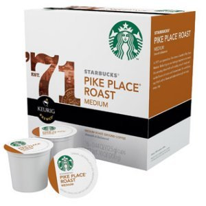 Starbucks Pike Place Medium Roast, 16 K Cups Keurig