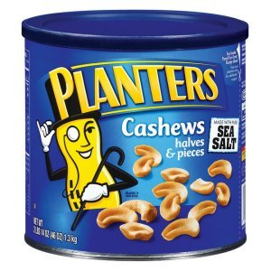 Planters Cashew Halves and Pieces 46 oz